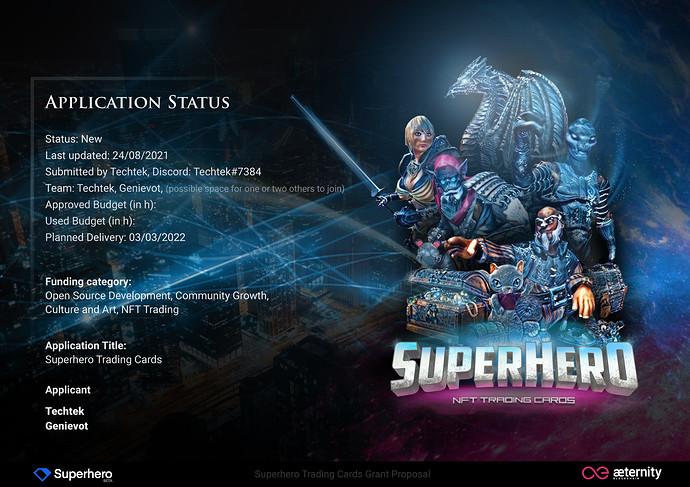 Superhero Trading Cards - Grant-01