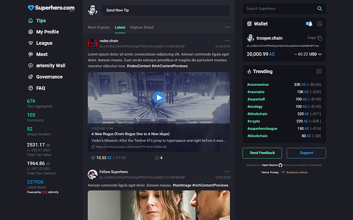 1. rich content previews - video YouTube