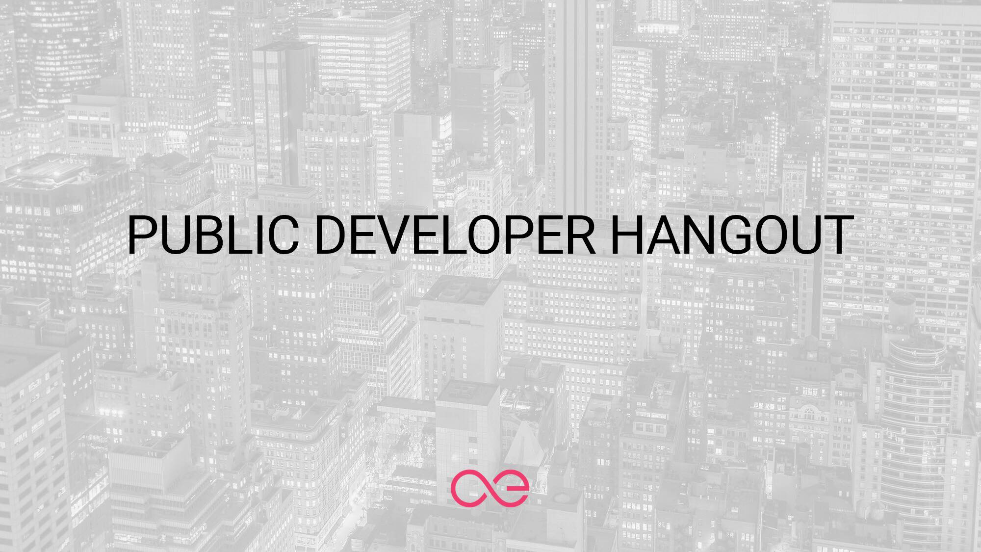 Public Developer Hangout [call with the æternity's devs