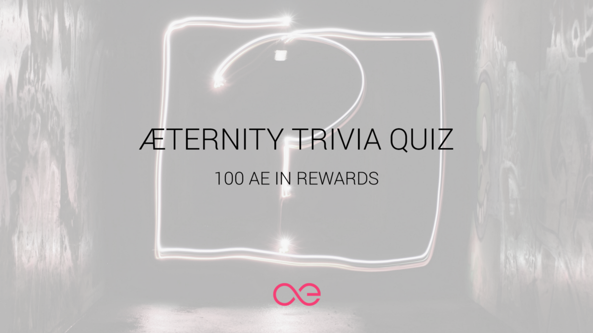 Æternity Trivia Quiz in Telegram - General Questions, News and